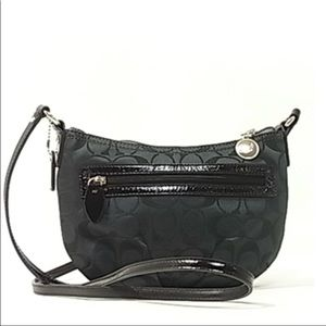 Coach Black Crossbody Handbag Style F44744 New